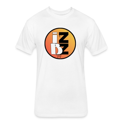 IZBZ Circle Logo - Fitted Cotton/Poly T-Shirt by Next Level