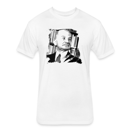 Ludwig von Mises Libertarian - Fitted Cotton/Poly T-Shirt by Next Level