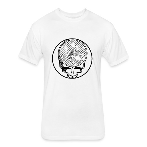 Clip Your Face - Fitted Cotton/Poly T-Shirt by Next Level