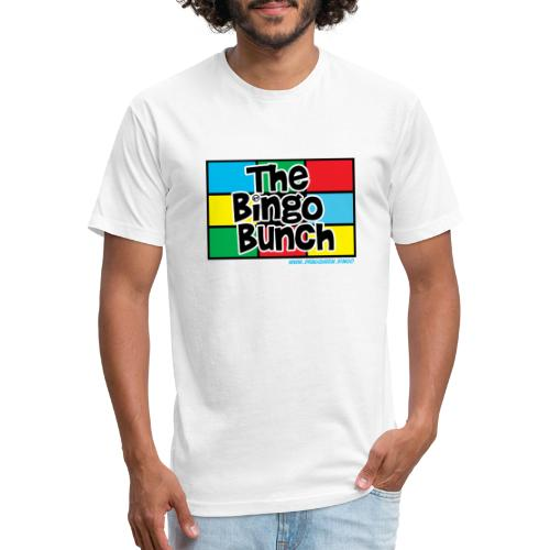 BINGO BUNCH MONDRIAN 2 - Fitted Cotton/Poly T-Shirt by Next Level