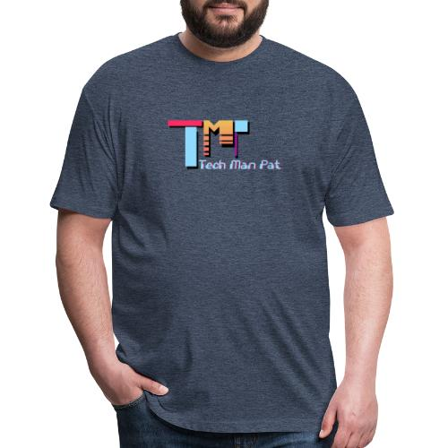 TechManPat Logo Large - Fitted Cotton/Poly T-Shirt by Next Level