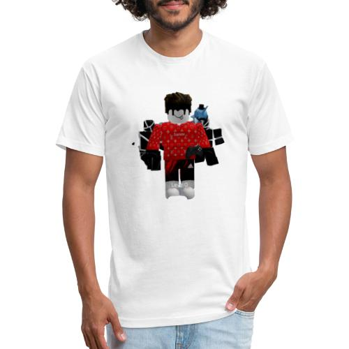 Inkblind merch store - Fitted Cotton/Poly T-Shirt by Next Level