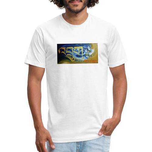 Druk - Fitted Cotton/Poly T-Shirt by Next Level