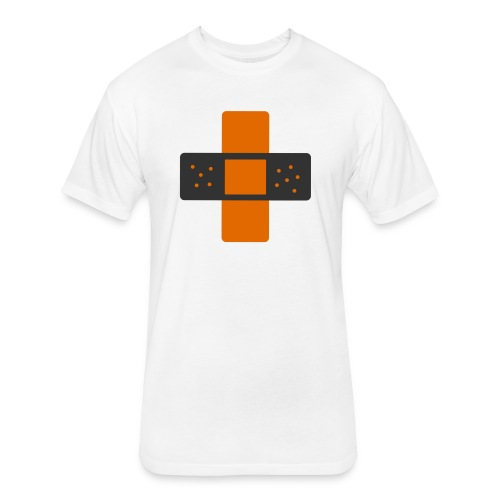bloggingaid-icon - Fitted Cotton/Poly T-Shirt by Next Level