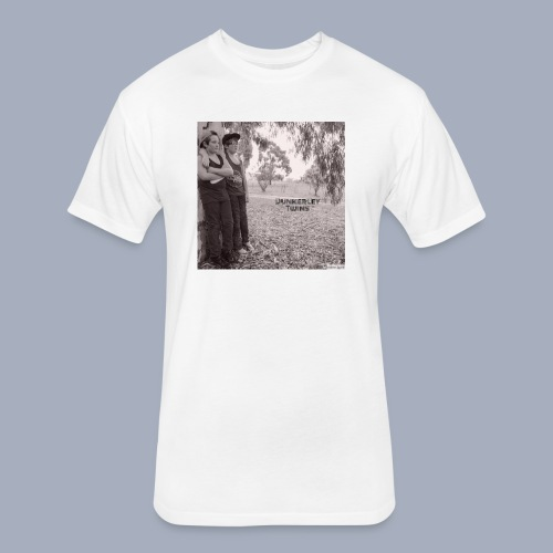 dunkerley twins - Fitted Cotton/Poly T-Shirt by Next Level