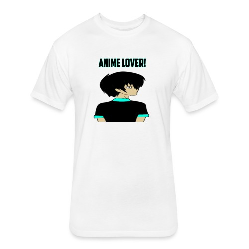 anime lover - Fitted Cotton/Poly T-Shirt by Next Level