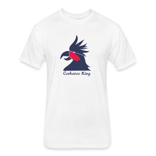 Cockatoo Logo - Fitted Cotton/Poly T-Shirt by Next Level