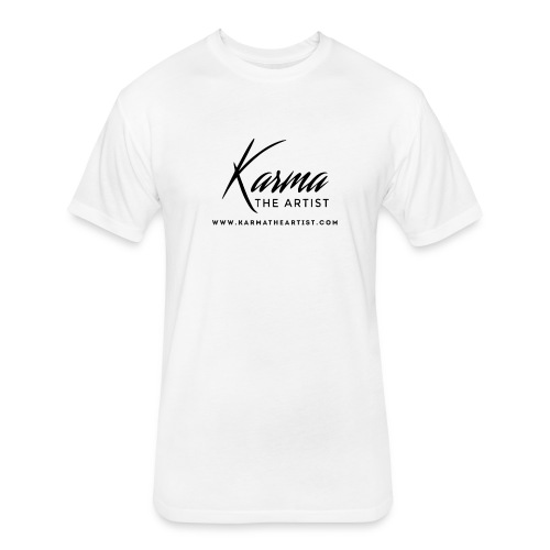 Karma - Fitted Cotton/Poly T-Shirt by Next Level