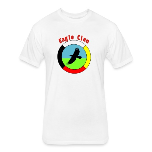 Eagleclan - Fitted Cotton/Poly T-Shirt by Next Level