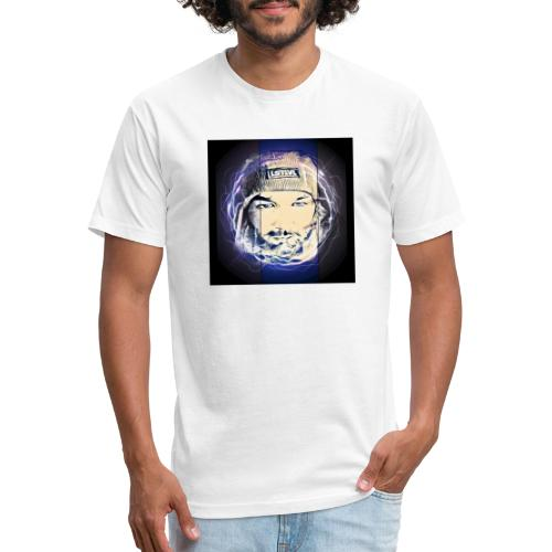 Electric circle - Fitted Cotton/Poly T-Shirt by Next Level