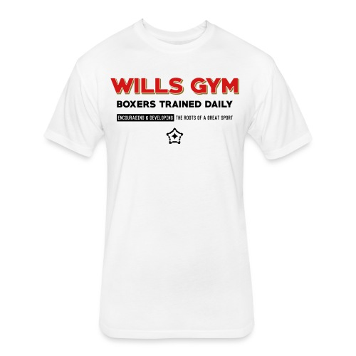 Wills Gym - Fitted Cotton/Poly T-Shirt by Next Level