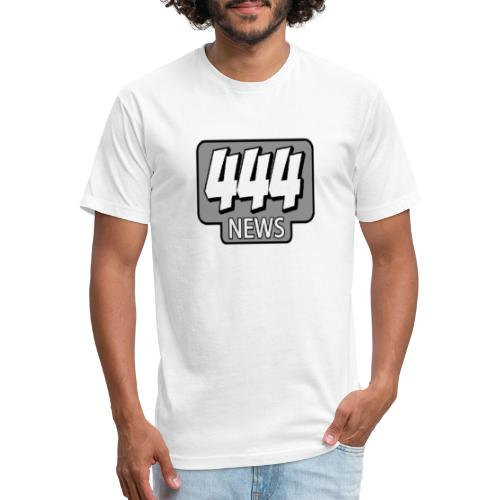 444 News Logo - Fitted Cotton/Poly T-Shirt by Next Level