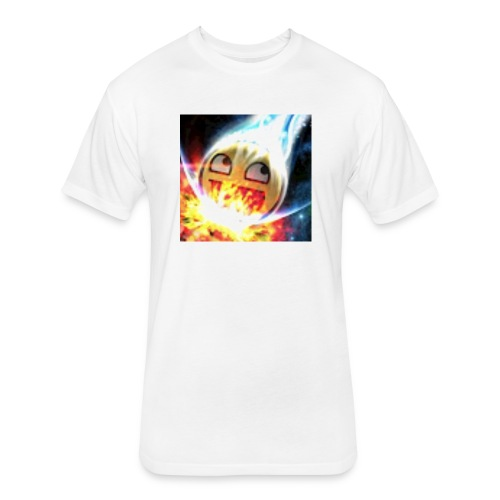 Jovanie perez - Fitted Cotton/Poly T-Shirt by Next Level