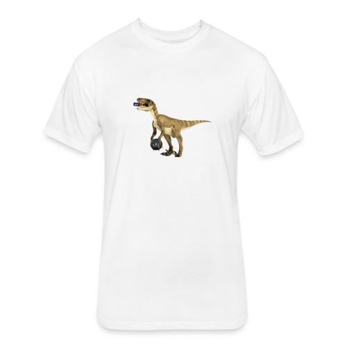 amraptor - Fitted Cotton/Poly T-Shirt by Next Level