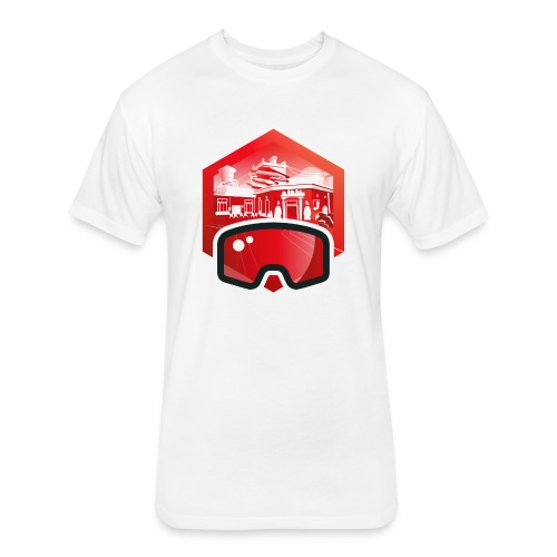HiveFest V - Fitted Cotton/Poly T-Shirt by Next Level