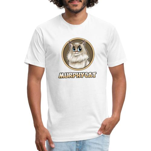 MURPHYCAT LOGO - Fitted Cotton/Poly T-Shirt by Next Level