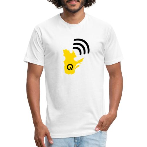 Radio-Québec - T-shirt ajusté poly/coton pour hommes