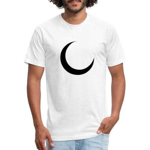 Crescent - Fitted Cotton/Poly T-Shirt by Next Level