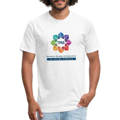 TPAS Color Stacked 10TH 5 13 TPAS OPTION A - Fitted Cotton/Poly T-Shirt by Next Level