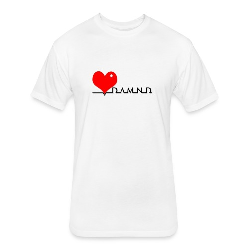 Damnd - Fitted Cotton/Poly T-Shirt by Next Level