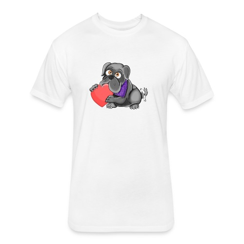 Team Zora - Fitted Cotton/Poly T-Shirt by Next Level
