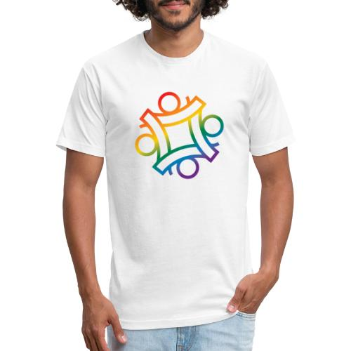 PCAC pride - Fitted Cotton/Poly T-Shirt by Next Level