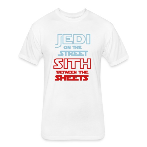 Jedi Sith Awesome Shirt - Fitted Cotton/Poly T-Shirt by Next Level