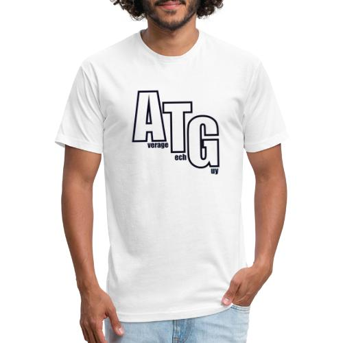 ATG Blocks - Fitted Cotton/Poly T-Shirt by Next Level