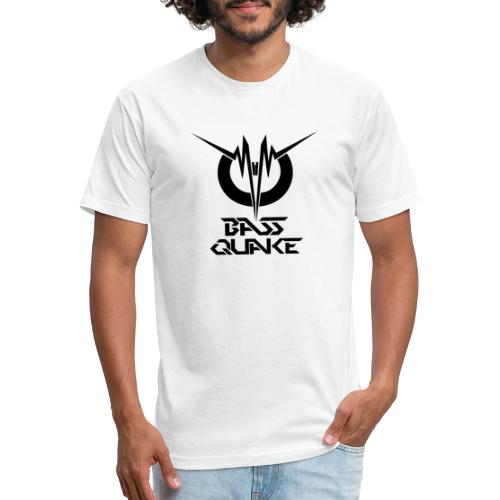 BASSQUAKE MONO LOGOTYPE BY FDS - Fitted Cotton/Poly T-Shirt by Next Level