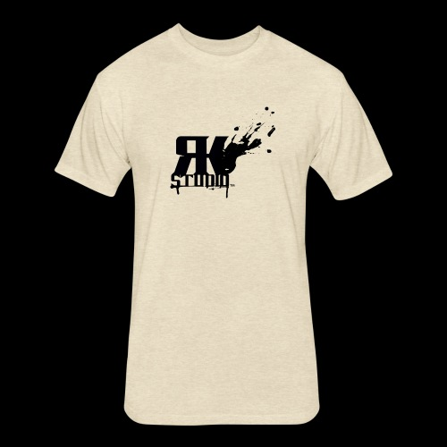 RKStudio Black Version - Fitted Cotton/Poly T-Shirt by Next Level