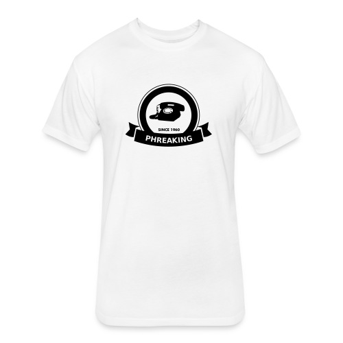 Phreaking - Fitted Cotton/Poly T-Shirt by Next Level