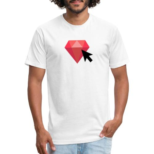 Select Ruby - Fitted Cotton/Poly T-Shirt by Next Level