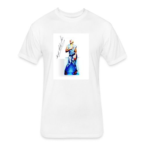 Sweet Randi Love Apparel - Fitted Cotton/Poly T-Shirt by Next Level