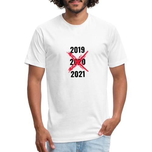 No 2020 - Fitted Cotton/Poly T-Shirt by Next Level