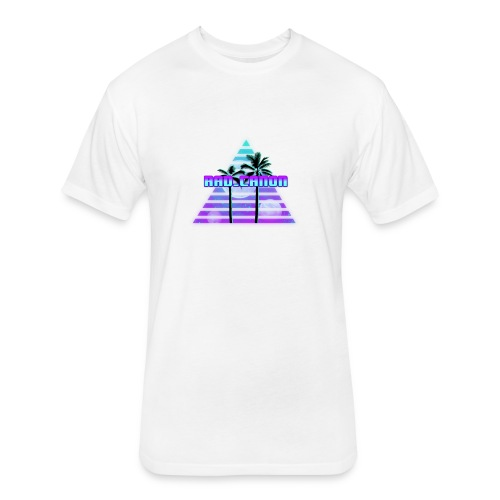 Rad Vaporwave Tee - Fitted Cotton/Poly T-Shirt by Next Level