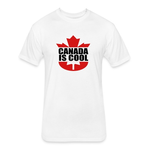 Canada is Cool - Fitted Cotton/Poly T-Shirt by Next Level