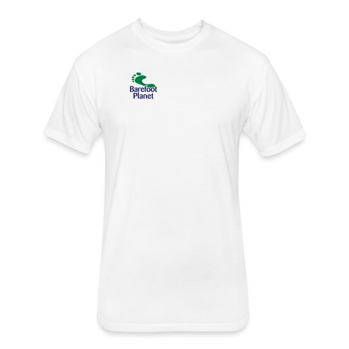 Get Out & Run Barefoot Women's T-Shirts - Fitted Cotton/Poly T-Shirt by Next Level