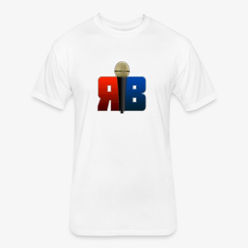 RubikBBX Logo - Fitted Cotton/Poly T-Shirt by Next Level