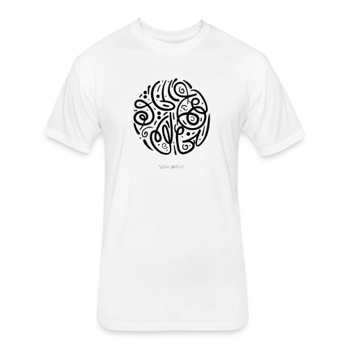 Let the creation to the Creator - Fitted Cotton/Poly T-Shirt by Next Level