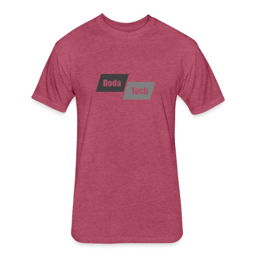 DodaTech Logo - Fitted Cotton/Poly T-Shirt by Next Level