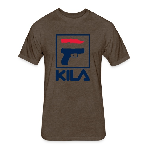Kila - Fitted Cotton/Poly T-Shirt by Next Level