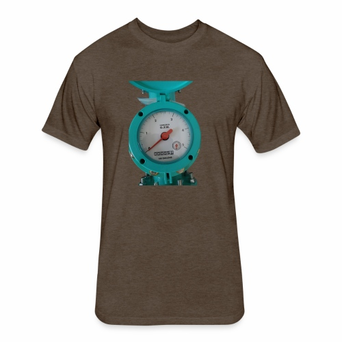 Meter - Fitted Cotton/Poly T-Shirt by Next Level