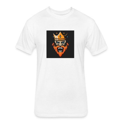Kings - Fitted Cotton/Poly T-Shirt by Next Level