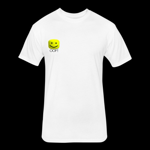 OOF! - Fitted Cotton/Poly T-Shirt by Next Level