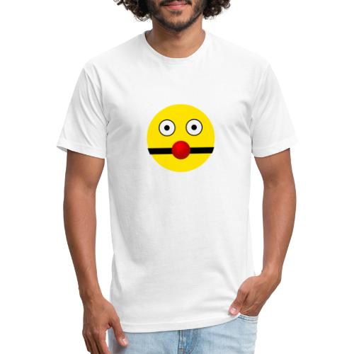 BALLGAG SMILEY - Fitted Cotton/Poly T-Shirt by Next Level