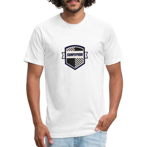 SiimplyPiink - Fitted Cotton/Poly T-Shirt by Next Level