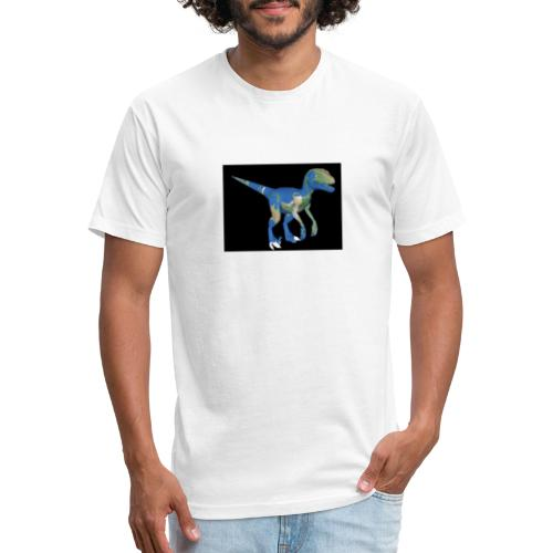 dinosaur - Fitted Cotton/Poly T-Shirt by Next Level