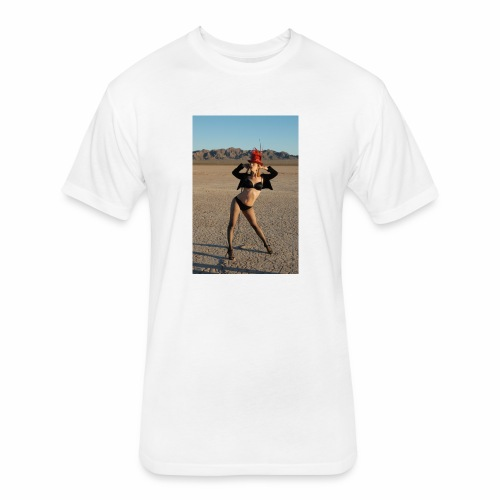 MadMeat Desert Circus - Fitted Cotton/Poly T-Shirt by Next Level