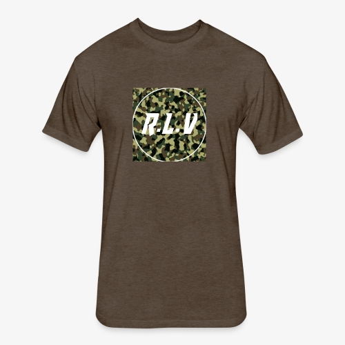 River LaCivita Camo. - Fitted Cotton/Poly T-Shirt by Next Level