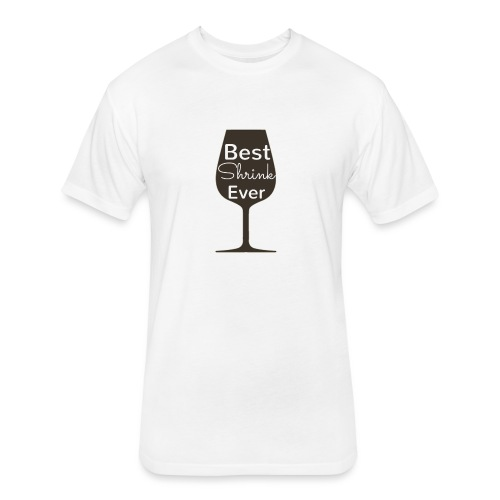 Alcohol Shrink Is The Best Shrink - Fitted Cotton/Poly T-Shirt by Next Level